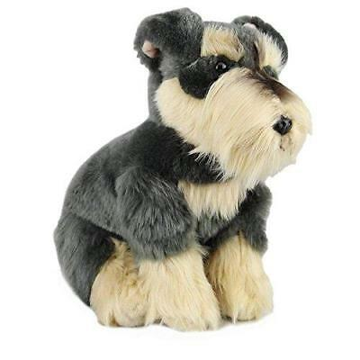 Plush Dog SCHNAUZER Soft Cute Toy Stuffed Animal Branded Collectible Gift