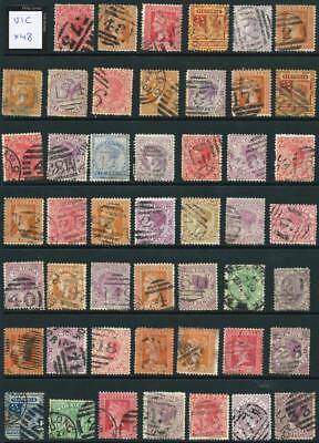 VICTORIA - Bulk Used Selection (Full Sheet) x 48 Stamps [5529]