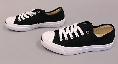 e25624aa742287 Converse Unisex Jack Purcell Low Top Canvas Shoes GG8 Black White Size M 5.5