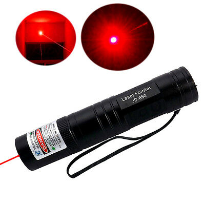 Powerful JD850 Red 1mW 650nm Laser Pointer Pen Lazer Lamp Ray Visible Beam