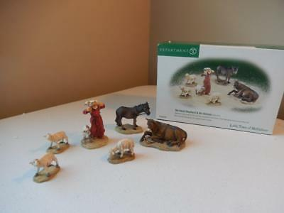 Department 56 Little Town of Bethlehem The Good Shepherd & His Animals #56.59791