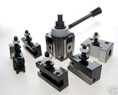 Piston Type Quick Change Lathe Toolpost - Medium Tool Post