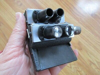 Vintage Bausch & Lomb Optical Company -Stereoscope Microscope Lens Holder