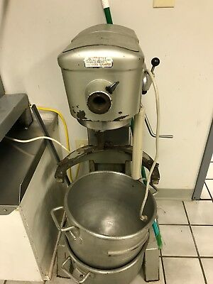 Vintage Commercial Hobart Mixer Large With Attachments Local Pickup Floor Mixer