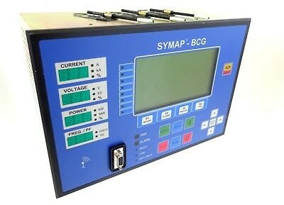 STUCKE SYMAP BCG Steueurng Überwachung Control Digital Protection Relay 24VDC