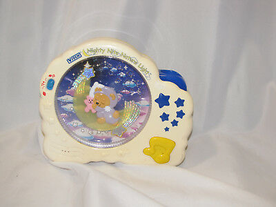 VTech Nighty Nite Nature Light Music Lullaby Crib Soother Baby