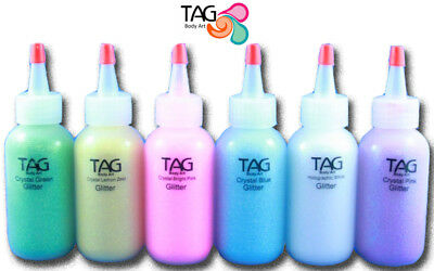 TAG Body Art Cosmetic Grade Glitter - ideal for face painting & glitter tattoos!