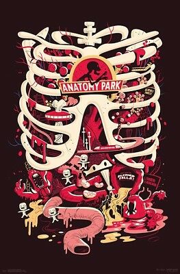 RICK AND MORTY - ANATOMY PARK POSTER 22x34 - TV SHOW 16422