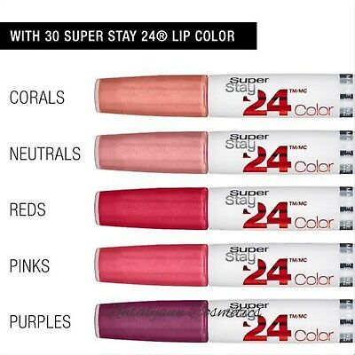 Maybelline Super stay 24hr LIPSTICK NEW SHADES + MATTES + FREE POST