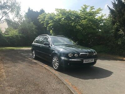 Jaguar X-Type SE Diesel Estate with genuine low mileage