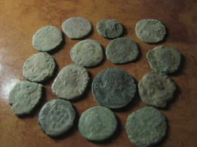Ancient roman coins lot 77