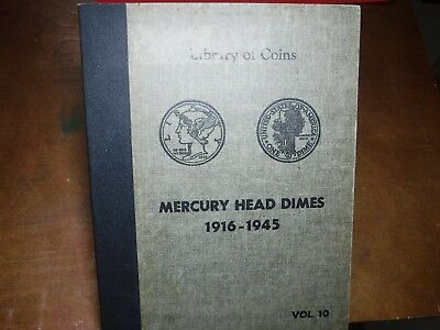 MERCURY DIME COLLECTION a Set of 76 Silver Dimes from 1916 to 1945