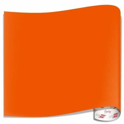 Oracal 651 Glossy Vinyl Sheets - Orange