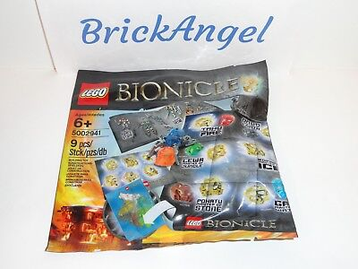 NEW LEGO BIONICLE  Hero Pack 5002941 Factory Sealed Polybag Set Party Gift Pack