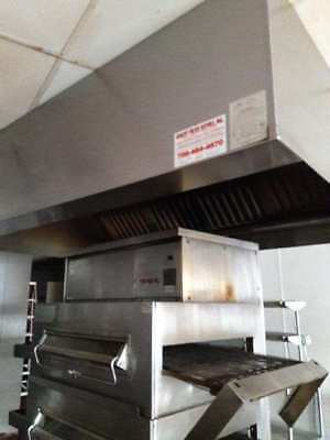 Middleby Marshall 360Q Double Stack Conveyor Ovens with Hood