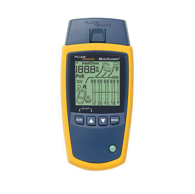 Fluke Networks MS2-100 MicroScanner2 Cable Verifier *Free Shipping*
