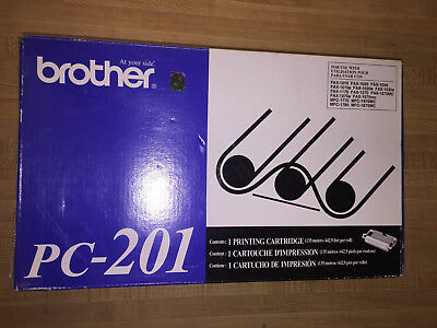 Pc-201 - New / Genuine Brother Toner / Printing Cartridge 10 10 20 30 1170 1270