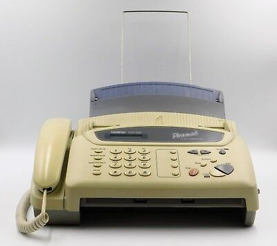 Brother FAX-560 Personal Plain Paper fax phone and copier for parts untested