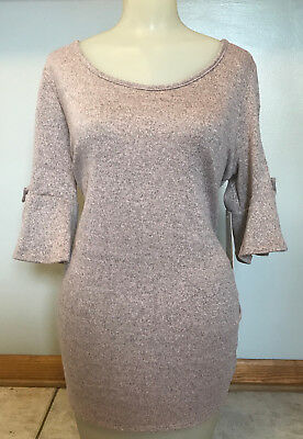 Sirenlily Maternity Sweater Top Size XL Extra Large NWTS NEW