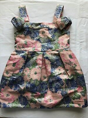 Adorable Janie and Jack_Dress_Sleeveless_Floral_Size 2T