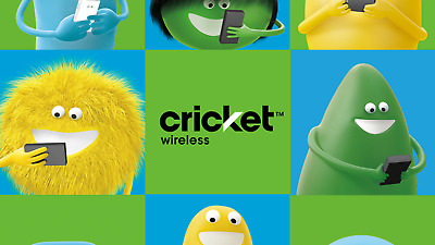 $25 Cricket Wireless Credit Coupon Code Link - New Service