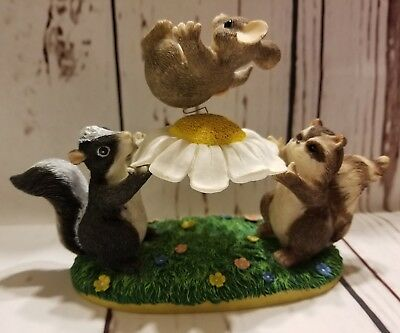 Charming Tails- The Blossom Bounce 83/704 -Dean Griff Figurine