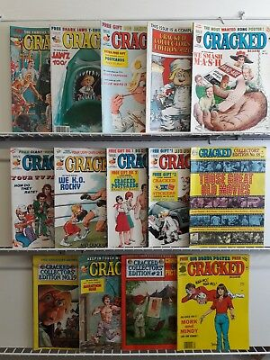 Vintage Cracked Magazine (Lot of 14) Used Collectible