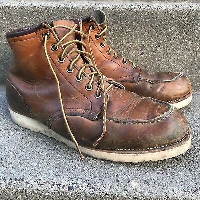 Vintage Red Wing Style 875 Work Hunting Boots 10.5 D 1990's USA