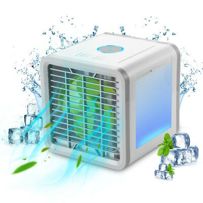 Portable Mini Air Conditioner Air Conditioning Cooling Fan Humidifier Cooler