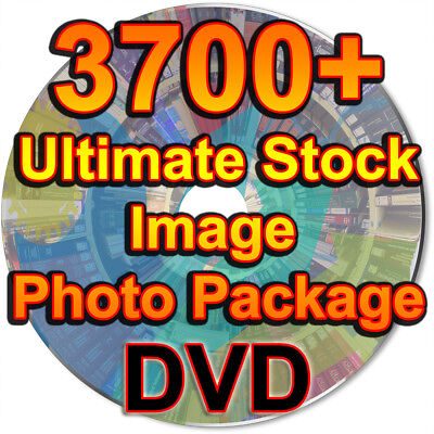 3700+ Ultimate Stock Image Photo Package Royalty Free Photo Graphics Project DVD