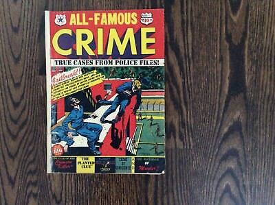 All-Famous Crime Comic #9  1951 by Star Publications GD