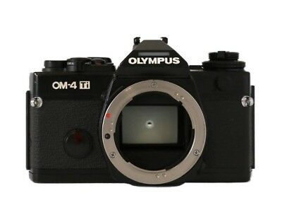Olympus OM-4TI 35mm SLR Film Camera Body Only FREE SHIPPING & Pristine condition