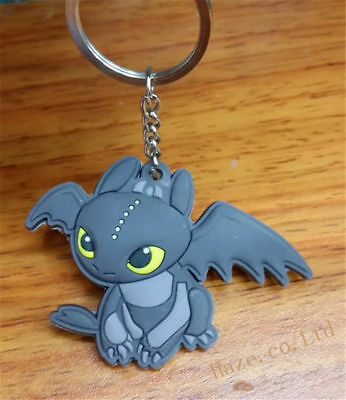 How To Train Your Dragon key rings Keyring school bag tag Double Sided