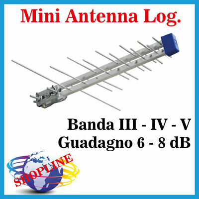 Antenna Digitale Terrestre per camper mini viaggio TV FULL HD 4K amplificata