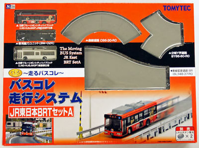 Tomytec Moving Bus System JR East BRT Set A 1/150 N scale New From Japan N/S