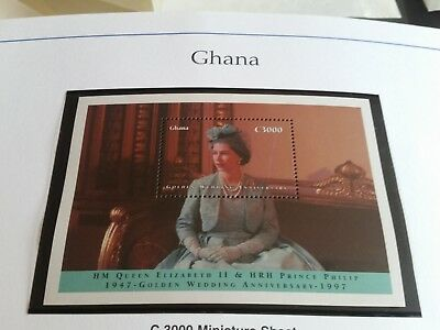 Ghana 1997 Sg Ms2447   Golden Wedding Mnh