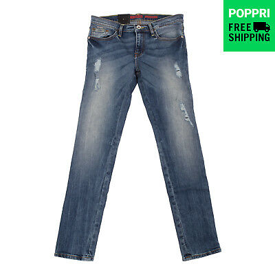GUESS Jeans XL 12Y Stretch Ripped Distressed Style Skinny L63A5900D4E