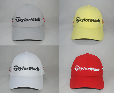 7e5602cd8a5a2 New TaylorMade R15 Aero Burner Golf Cap Men s Curved Bill Stretch Fit Hat  Defect
