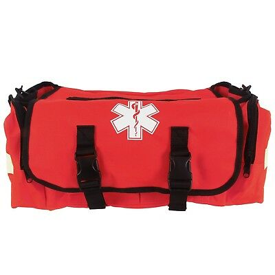 Dixigear First Responder On Call Trauma Bag W/Reflectors (Red) By Dixie Ems NEW