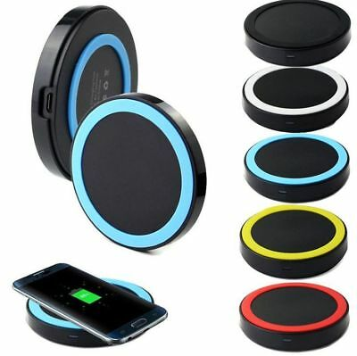 Multicolor Fast Qi Wireless Charger Charging Pad Mat for Apple Iphone 8 plus X