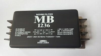Lambda Mb 1236 Noise Filter (Trolleyh.3B1)