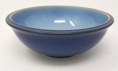 "Denby Blue Jetty - 7"" Soup/Cereal Bowl."