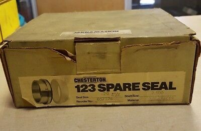 Chesterton 1 2 3 Spare Seal Seal Size 20 Shaft Size 2.500 No. 057278