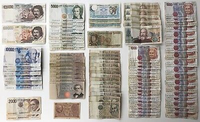 88 x Mixed Banknote Collection - Italy - Europe. (1926)