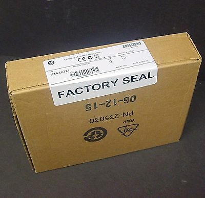 2015 New Sealed Allen Bradley 1756-L63XT 1756-L63 XT ControlLogix 5563 Processor