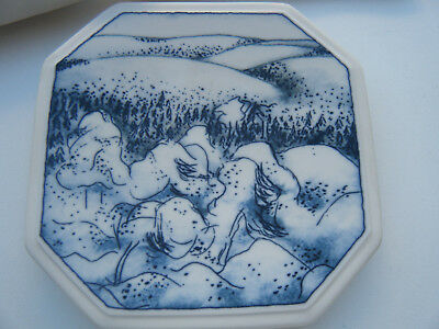 Finnair plate Winter Kaamos Arabia Finland Collectors Plate