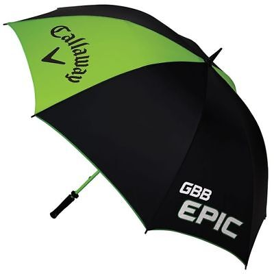 New Callaway Epic 64 Inch Single Canopy Golf Umbrella