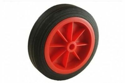 MP430 160mm Red Plastic Wheel with rubber tyre Fits Mp431 & Mp432