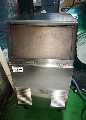 Scotsman AC85 Cube Ice Machine, used, not pretty but very reliable.