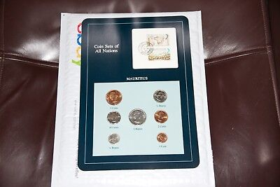 Coin Sets of All Nations Mauritius 7 Coin